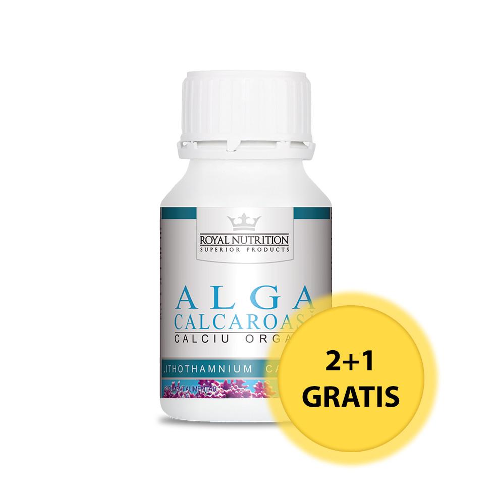Promotie Alga Calcaroasa (180 cps) 2 + 1