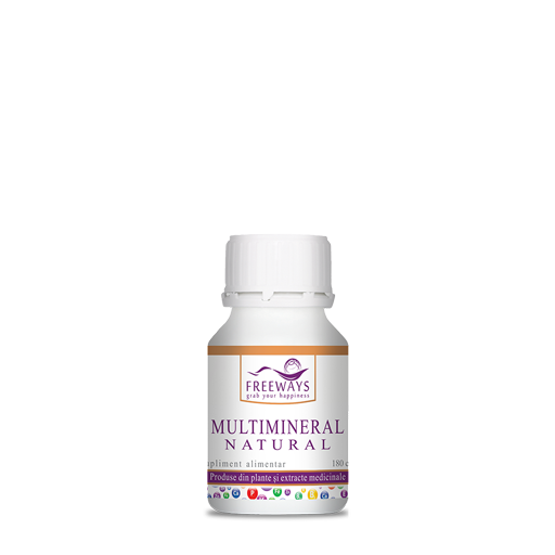 Natural Multi-mineral (180 cps)