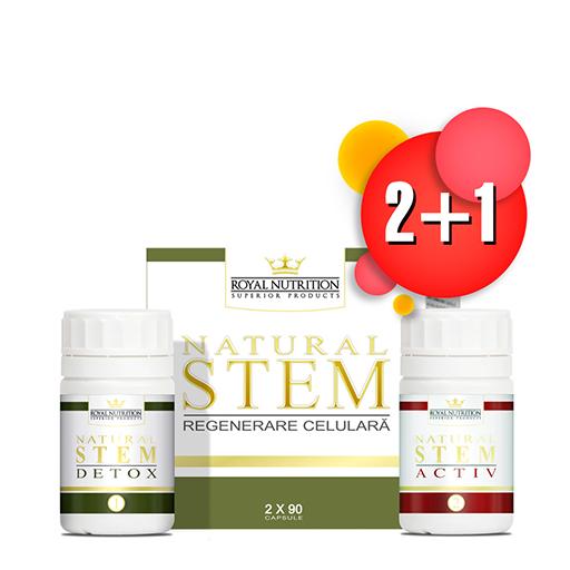Natural Stem (2 x 90 cps) 2+1
